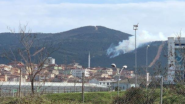 Aydos Ormanı'nda korkutan yangın!