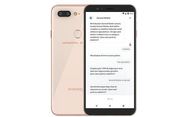 General Mobile'dan Android dünyasında bir ilk! Yapay zeka…
