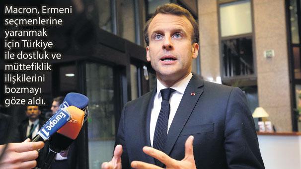 Fransa'dan 'küstah' 24 Nisan kararı!