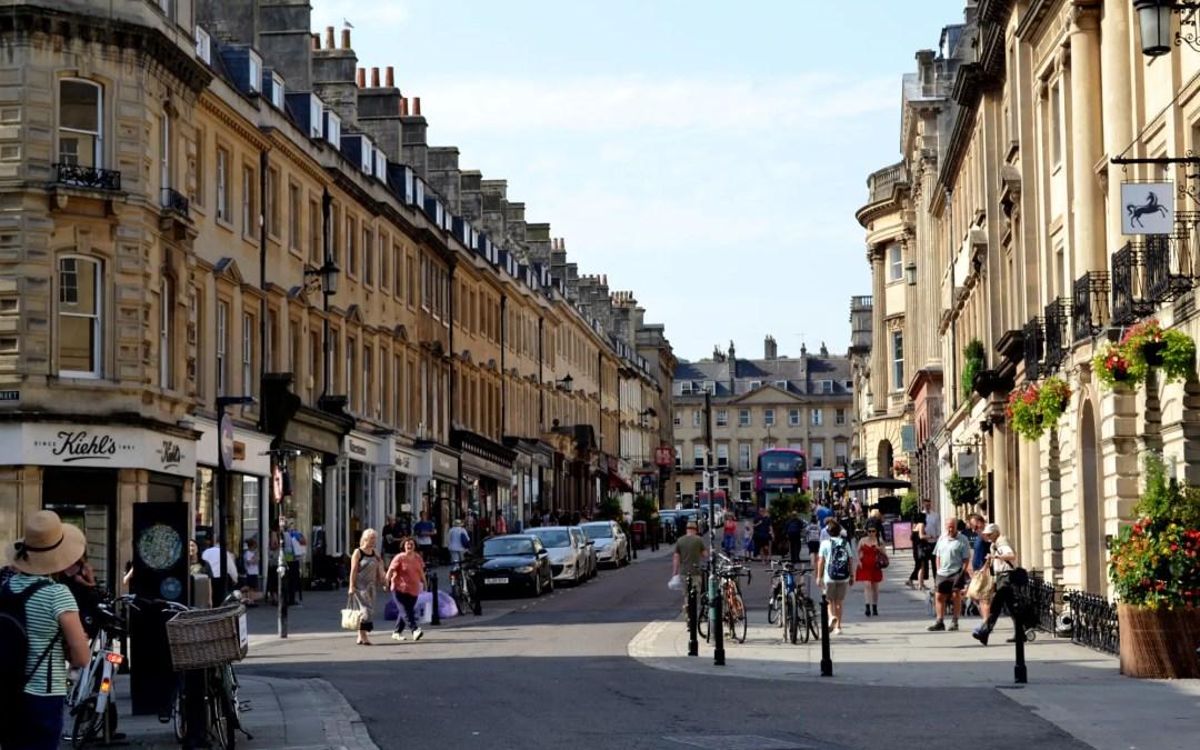 Top 10 Sehenswürdigkeiten in Bath