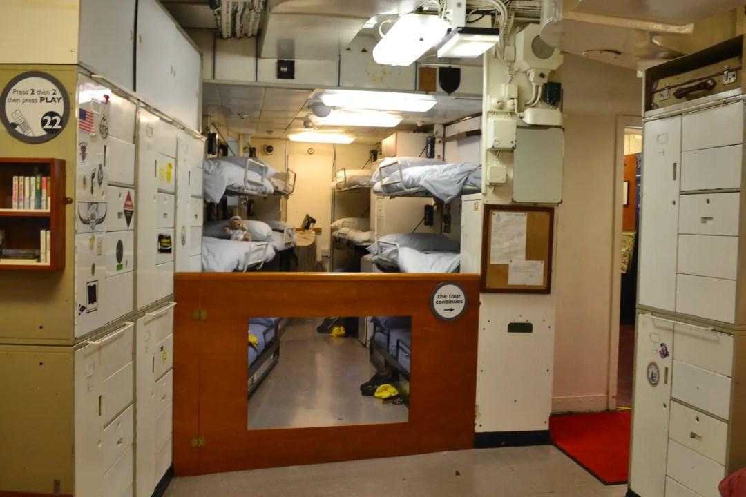 Royal Yacht Britannia Manachaftsquartier