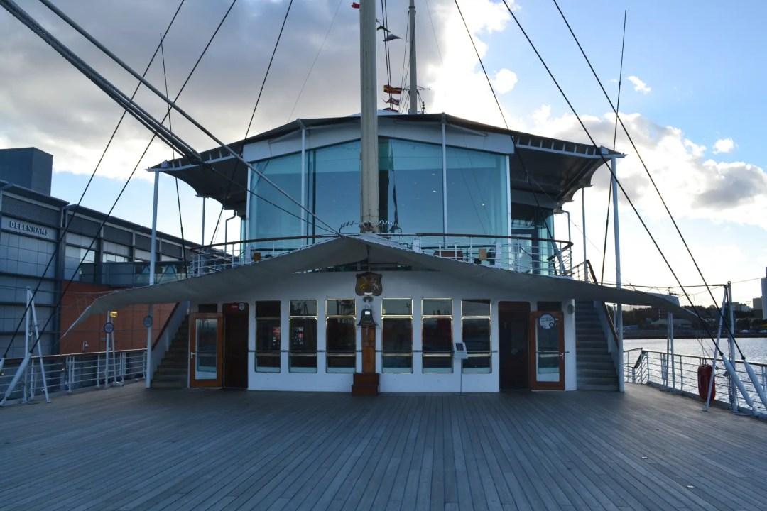 Royal Yacht Britannia Oberdeck