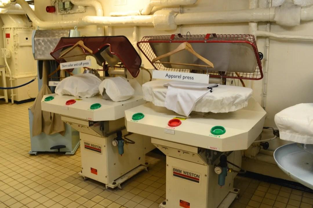 Royal Yacht Britannia Wäscherei