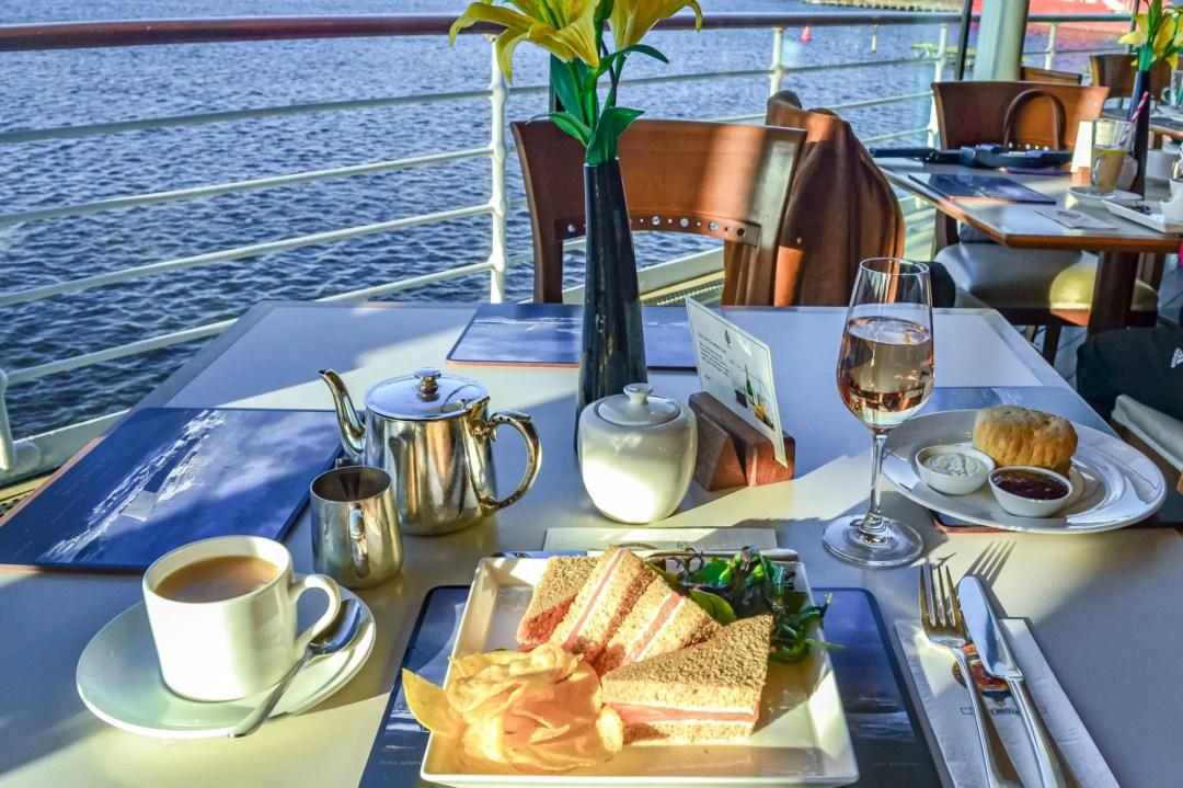 Royal Yacht Britannia Tea Time