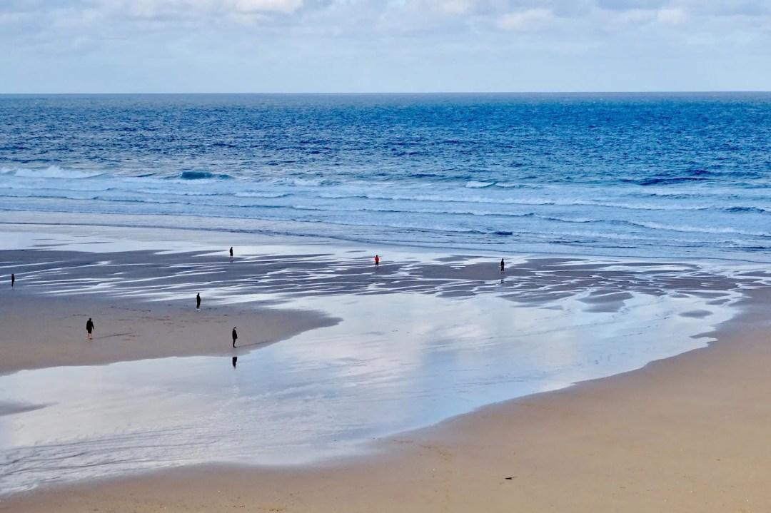 Watergate Bay, einer der schönsten Strande in Cornwall