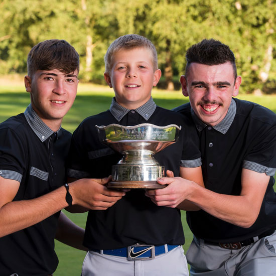 Burghill Valley team win Junior Champion Club title