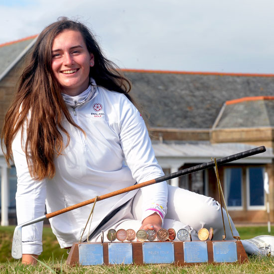 Lily May wins Scottish title to boost Curtis Cup hopes