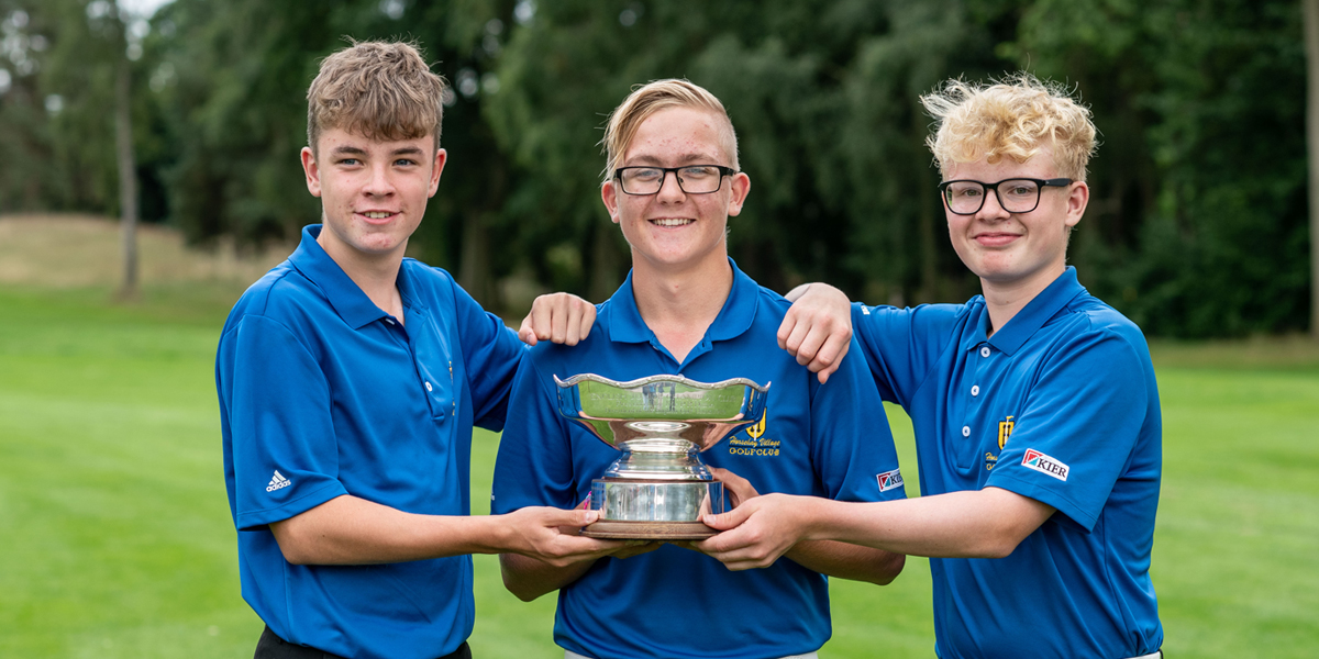 Shropshire boys win English Junior Champion Club title