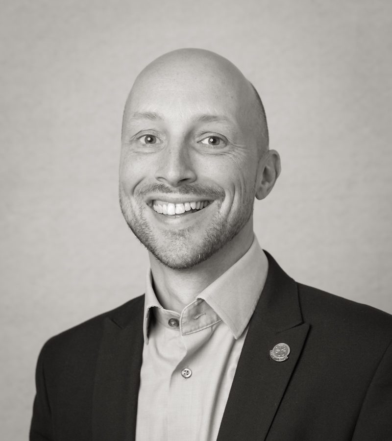 Headshot of Richard Flint, Participation and Club Support Director
