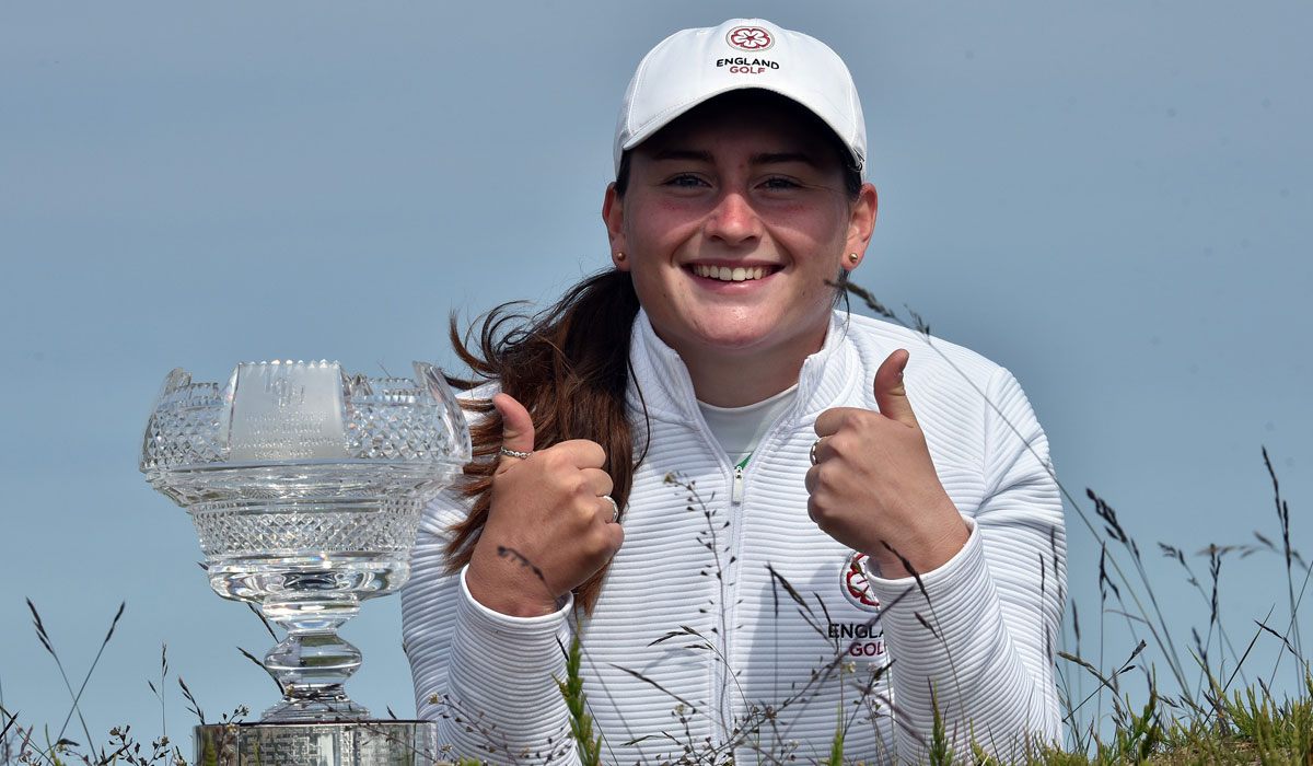 Dream double for England's Lily May