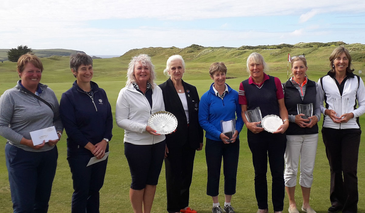 Aileen seals senior title with birdie, birdie finish