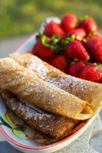 Glutenfri pandekager (uden mælk & æg)