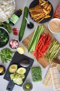 Guide til Vegansk Sushi