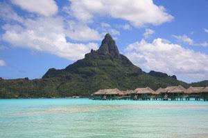 Tahiti is hotter.