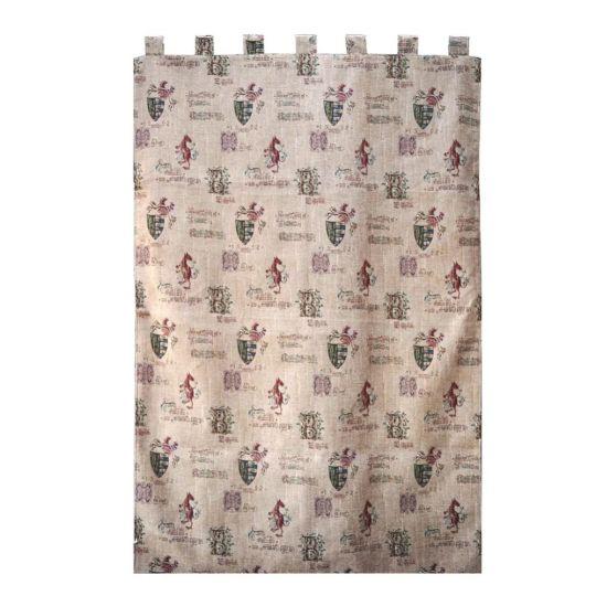 gothic manuscript tapestry door curtain
