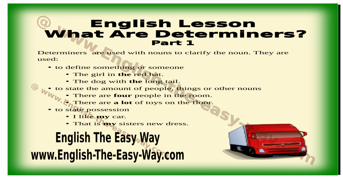 English Grammar Present Tense Verbs