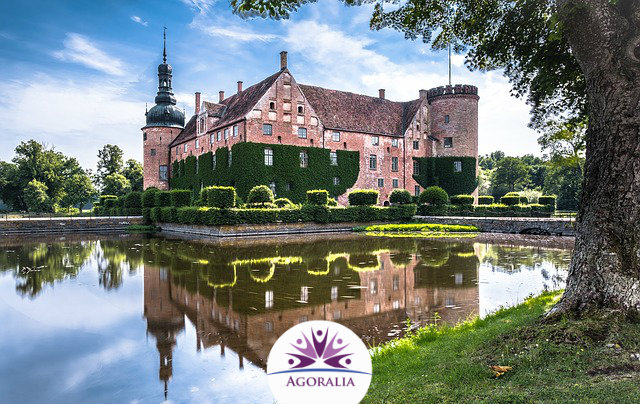 Sweden - Moated Castle