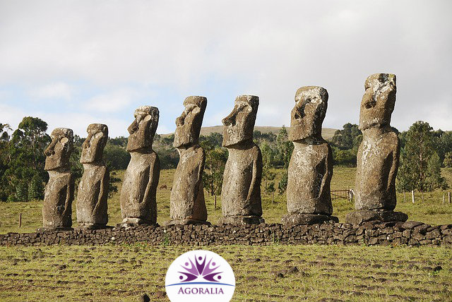 Chile - Eastern Island - Moai