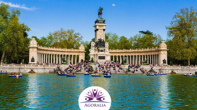 Spain - Madrid - Retiro Lake
