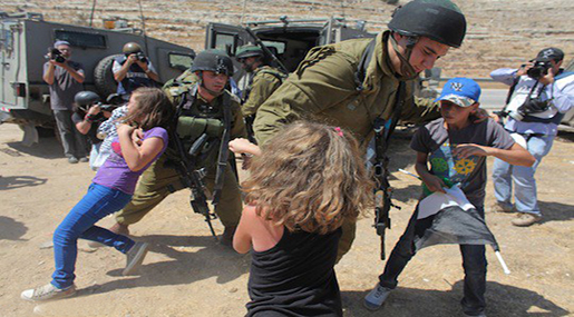"""Israel"" Sentences a 13-year-old Palestinian Girl to Prison!"