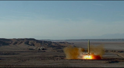 "Iran Test-fires Two More Ballistic Missiles Capable of Hitting ""Israel"""