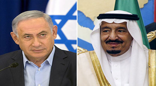"""Israeli"" PM Benjamin Netanyahu and Saudi King Salman"