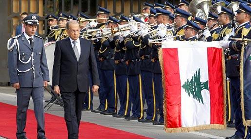 Lebanese President General Michel Aoun