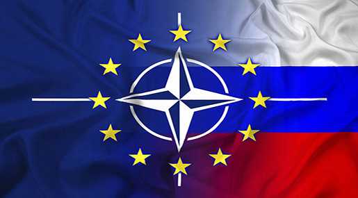 NATO-Russia flag