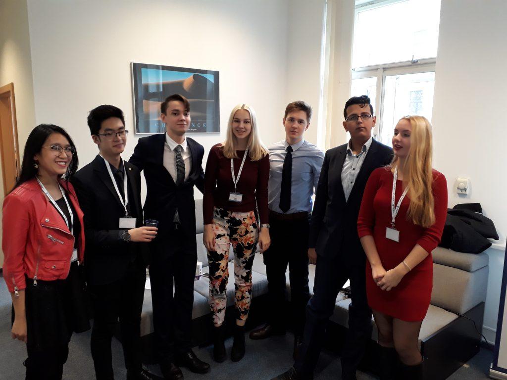 ECP MUN Team - January 2018