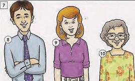 english exercises describing people