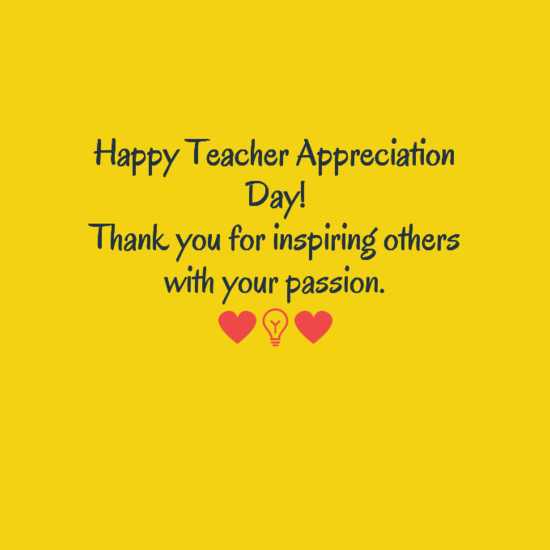 Happy teacher appreciation day week english outside the box happyteacherappreciation sciox Images