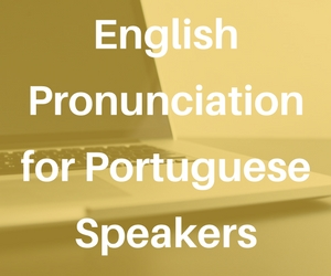online course english pronunciation portuguese speakers