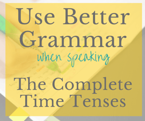 Use Better Grammar for Speaking Course