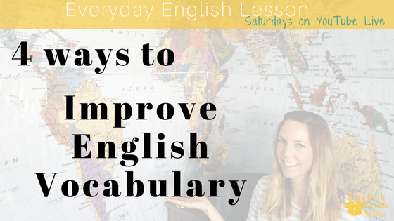 improve english vocabulary