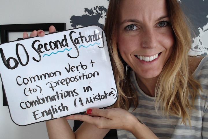 common verb preposition combinations