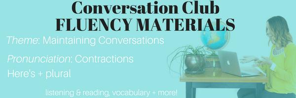 Conversation ClubFLUENCY MATERIALS (1)