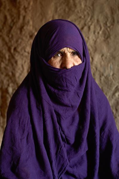 Nomad Lady Sahara Desert Africa