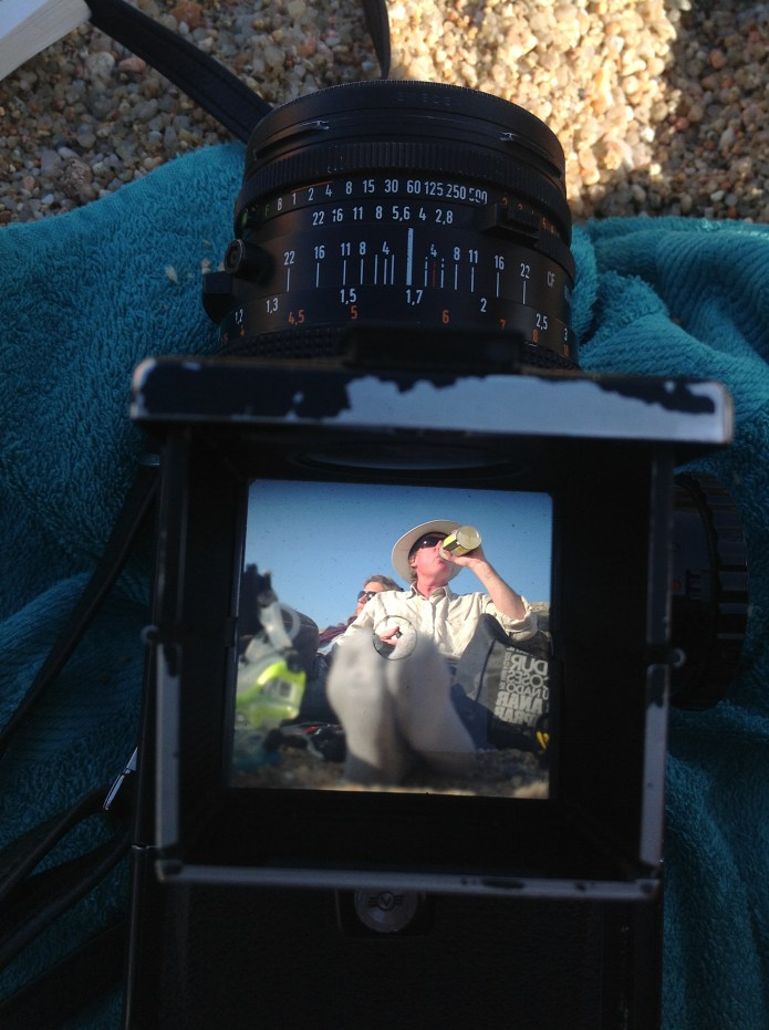 English Photographer: Hasselblad 500cm Carl Zeiss Planar 80mm Polaroid