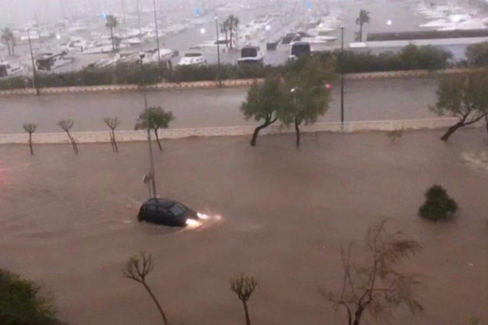 Unwetter Malaga Gestern