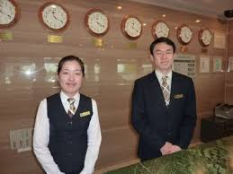 working as a hotel receptionist in Korea