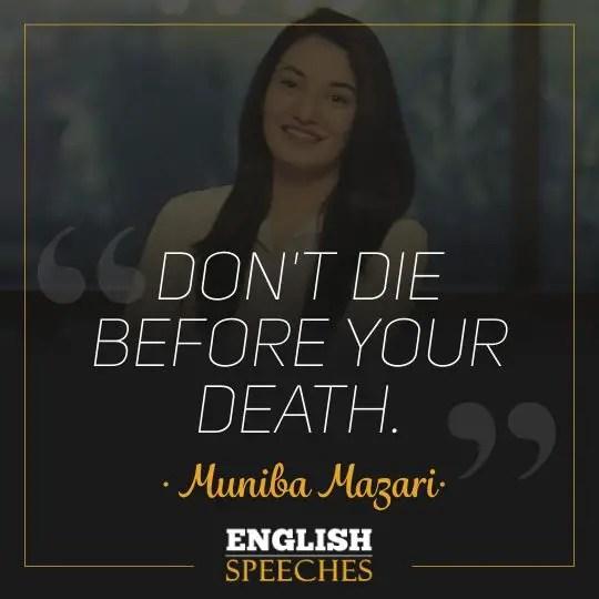 Muniba Mazari Quote