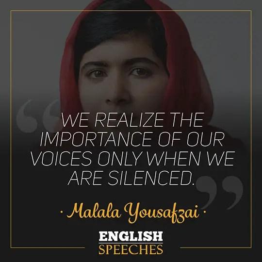 Malala Quote