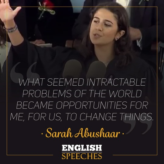 Sarah Abushaar Quote
