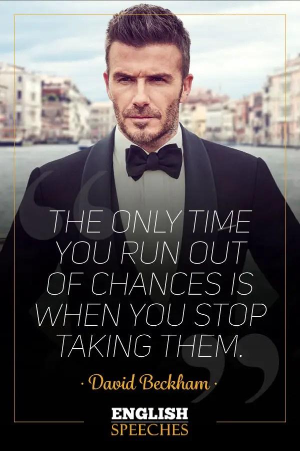 David Beckham Quote