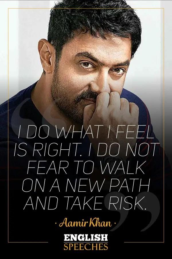 Aamir Khan Quote