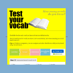 Test Your Vocab