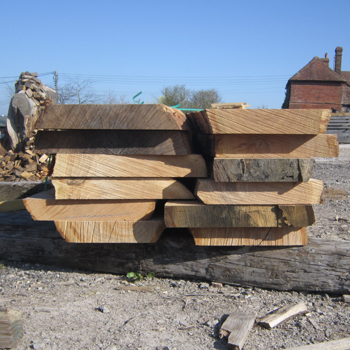 Fresh Sawn Structural Curved Braces English Woodlands Timber