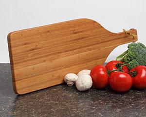 Personalized Cutting Board - Bamboo Wine Paddle