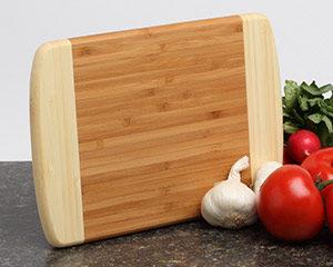 Personalized Cutting Board - Bamboo 2 Tone 10x7