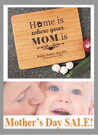 Mother's Day is Coming Soon! Personalized Cutting Boards for MOM!